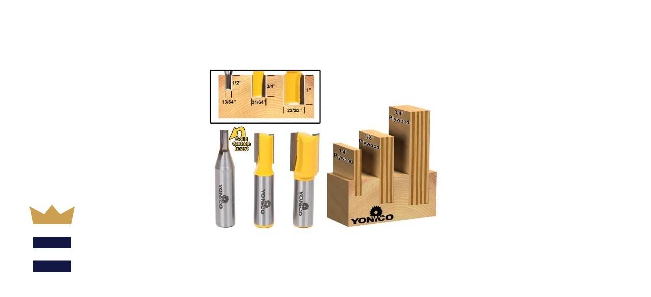 Yonico Router Bits Set