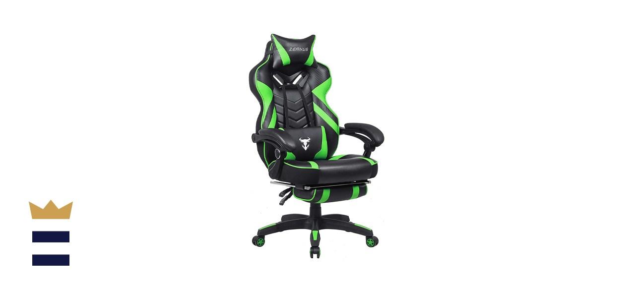ZEANUS Racing Style Massage Gaming Chair