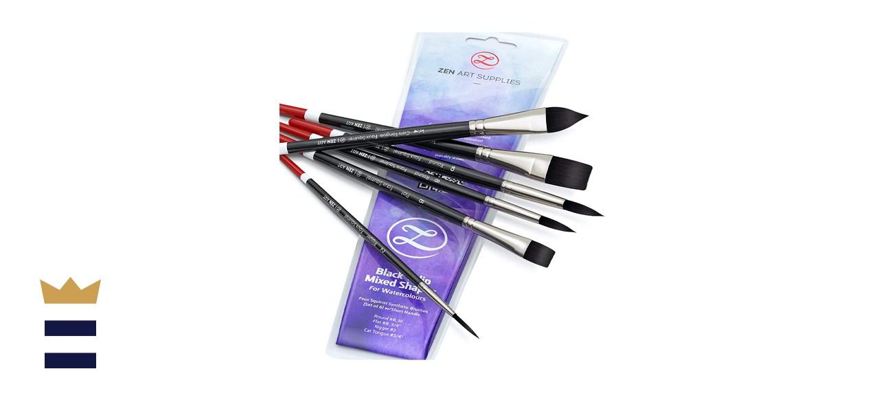 ZenART Watercolor Paintbrushes