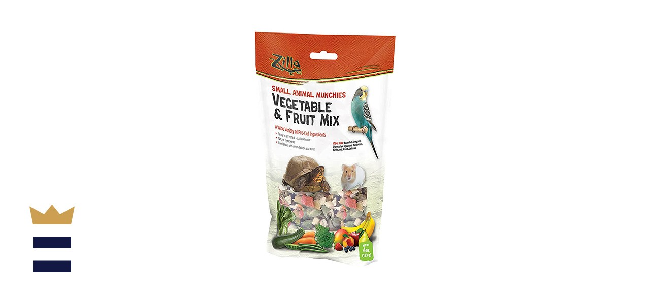 Zilla Small Animal Munchies Vegetable and Fruit Mix
