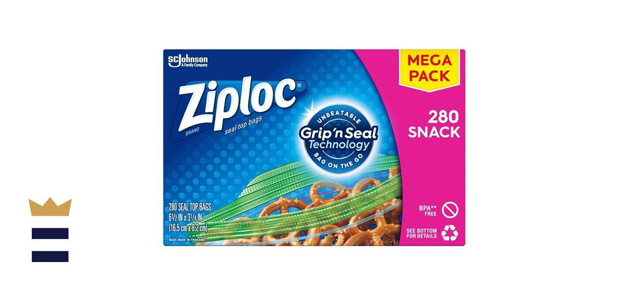 Ziplock Snack Bags