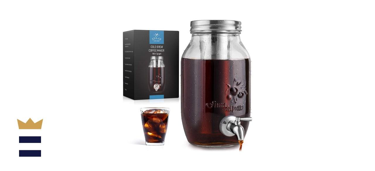 Zulay Kitchen 1.5-Liter Cold Brew Coffee Maker