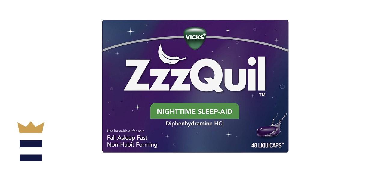 ZzzQuil, Nighttime Sleep Aid LiquiCaps, 25 mg